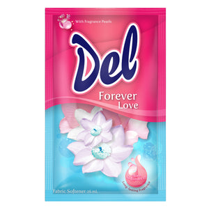 DEL FABRIC SOFTENER FOREVER LOVE 26MLX6X80