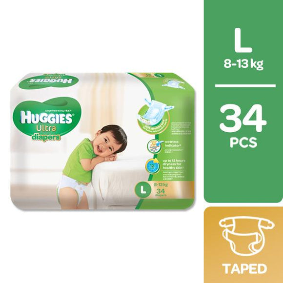 HUGGIES NATSOFT JMB L 34S