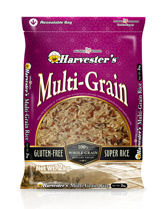 SUNNYWOOD SUPERFOODS CORPORATION MULTI GRAIN 2KG