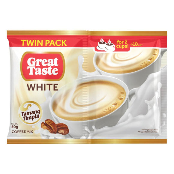 GREAT TASTE WHITE TWIN PACK 50GX240
