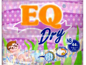 EQ DRY ECONO PACK NEW BORN 44S