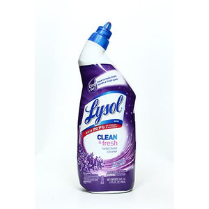 LYSOL TOILET BOWL CLEANER LAVENDER SCENT 709ML