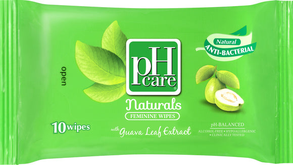 PH CARE FEMWIPES GUAVA 10S
