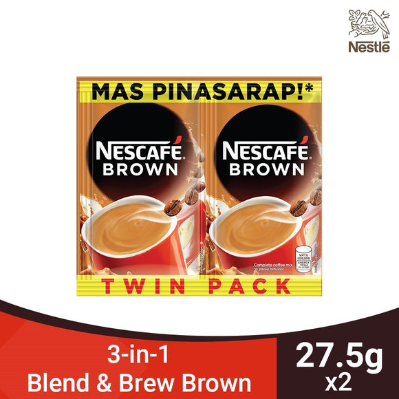 NESCAFE BROWN TWINPACK 2X24G