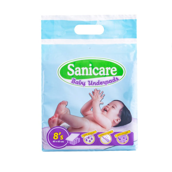 SANICARE BABY UNDERPADS 8S