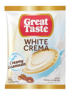 GREAT TASTE WHITE CREMA 30GX240