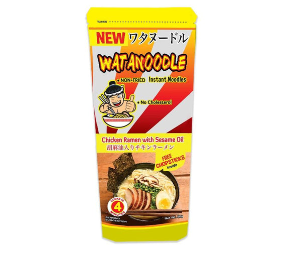 Watanoodle Chicken Ramen with Sesame Oil