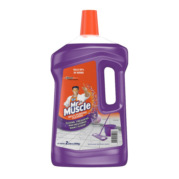 MR MUSCLE Multi Purpose Cleaner LAVENDER 2L