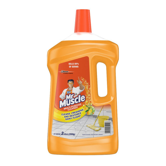 MR. MUSCLE MULTI PURPOSE CLEANER LEMON 2L