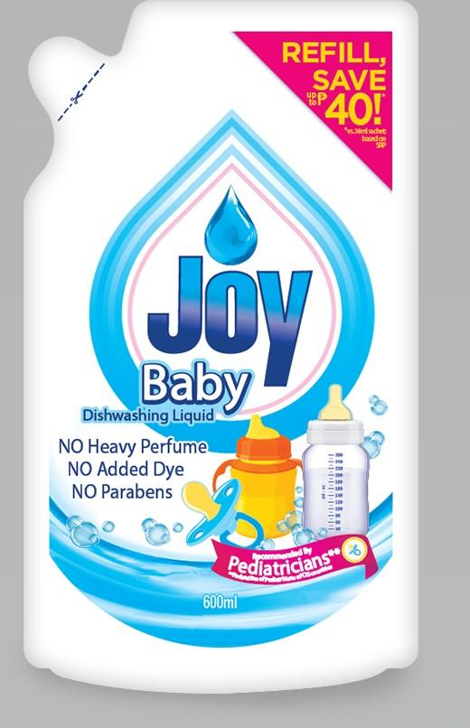 Joy Baby Dishwashing Liquid 600ML