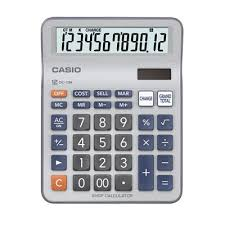 Casio Calculator DC-12M