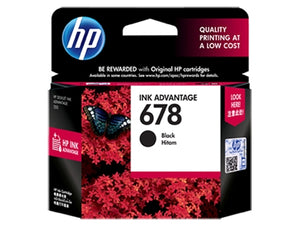 HP 678 Ink Cartridge HPCZ107AA Black
