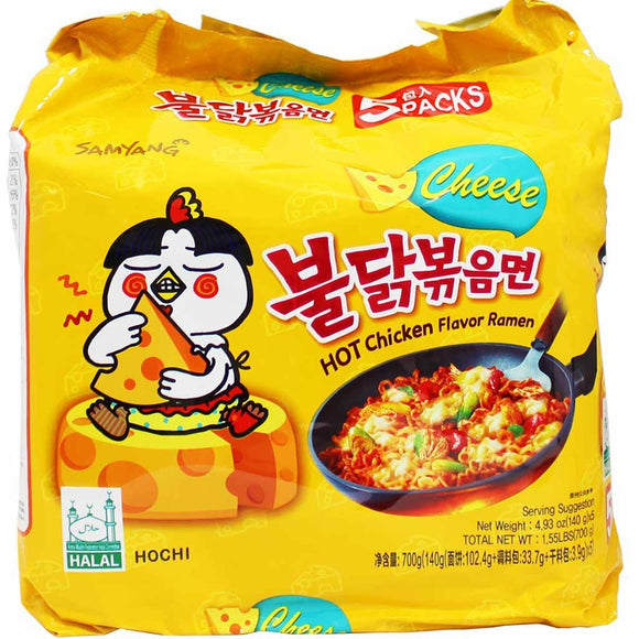 Samyang Hot Chicken Flavor Ramen Cheese Multipack