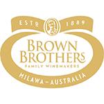 Australian family owned Brown Brothers Winery, Milawa Victoria