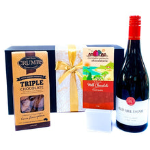 Load image into Gallery viewer, Chocolate and Wine Hamper