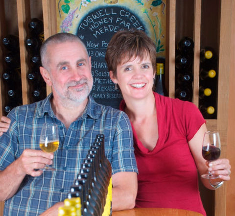 Bob Liptrot and Dana LeComte - Tugwell Creek MEadery