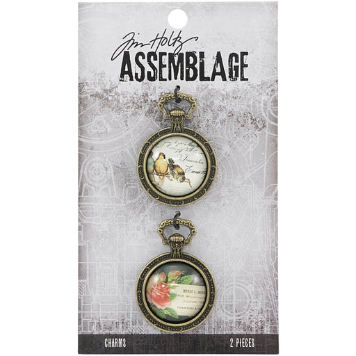 Tim Holtz Assemblage Charms Collage Domes