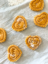 Load image into Gallery viewer, Dog friendly peanut butter pumpkin cookies