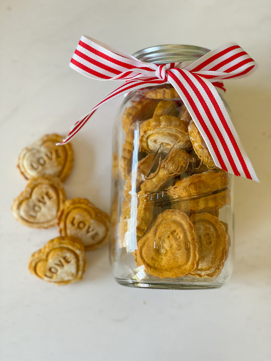 Dog friendly peanut butter pumpkin cookies