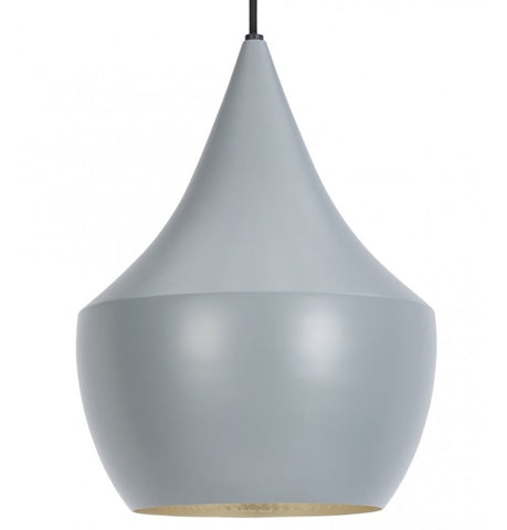 Beat Shade Fat Pendant Lamp - Grey - Reproduction