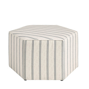 Ellen Natural Cocktail Ottoman (ETA 11/4/2020)