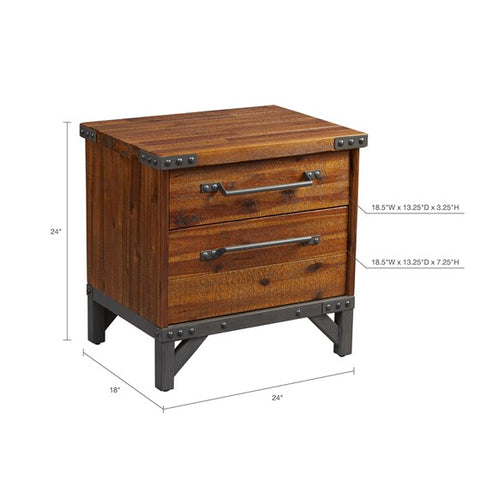 Lancaster 2-Drawer Nightstand