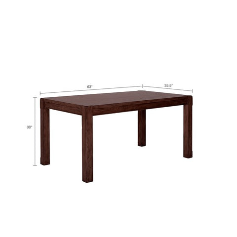 Image of Harbor Brown Dining Table (Almost Gone)