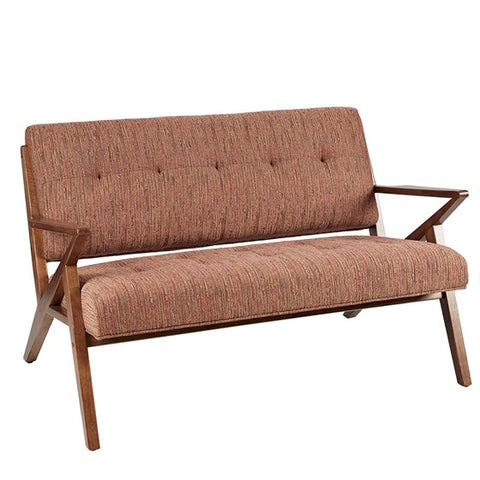 Rocket Loveseat Orange Beige