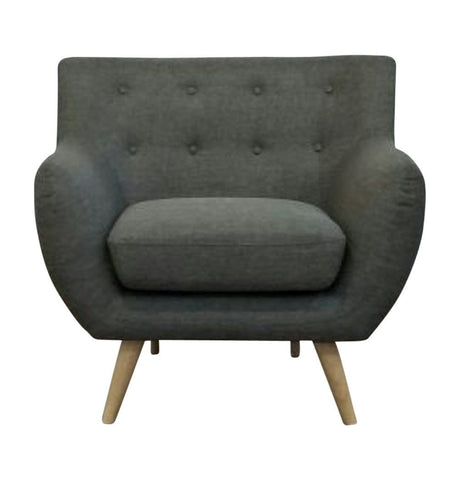 Image of Ebba Armchair - Grey