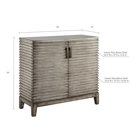 Image of West Ridge Grey Accent Chest