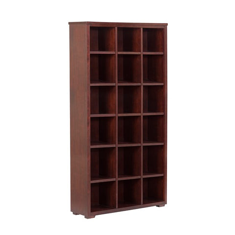 Image of Ashford Brown Bookcase Set of 2