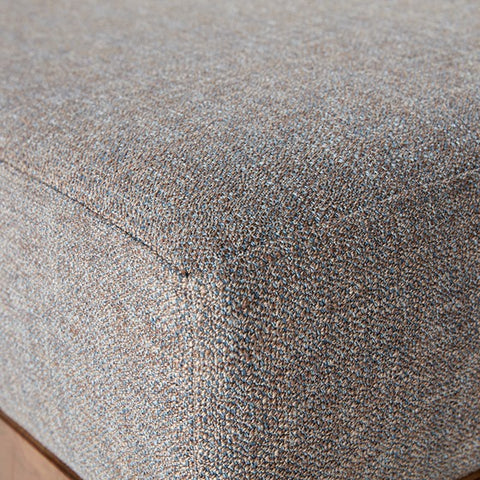Image of Stanton Grey Square Ottoman