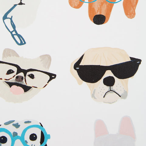 Hip Dogs Wall Art