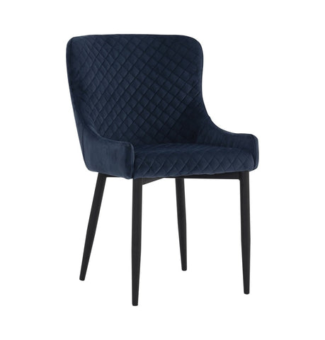 Image of Saskia Dining Chair - Navy