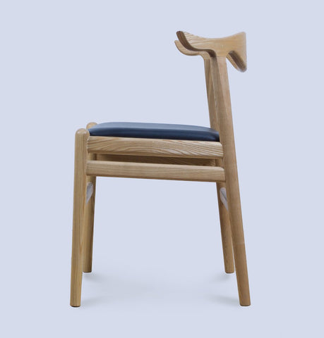 Image of PP505 Cow Horn Chair - Reproduction
