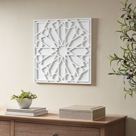 Boho Notion Square Carved Wall Panel (ETA 11/04/2020)