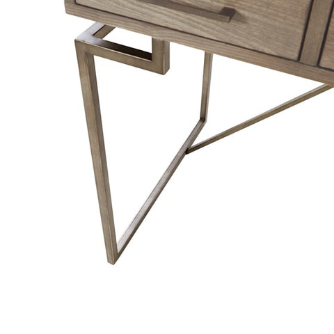 Peoria Writing Grey Antique Desk