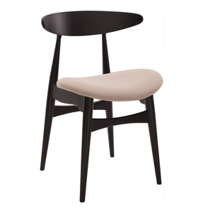 Tricia Dining Chair - Black & Barley