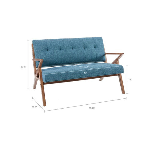 Image of Rocket Loveseat Blue (ETA 10/13/2020)
