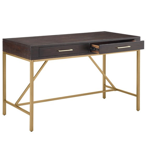 Image of Sharkey Morocco Gold Desk