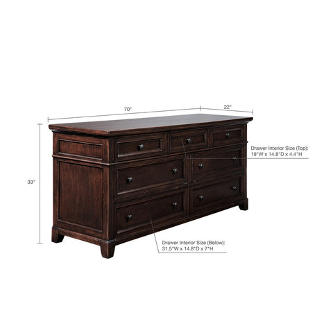 7-Drawer Montclair Dresser (Almost Gone)