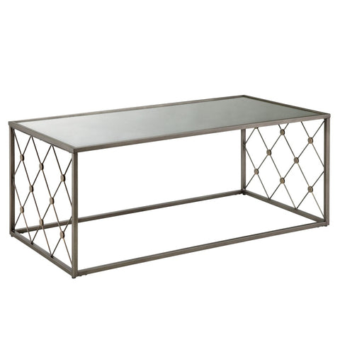 Coyne Mirror Top Coffee Table