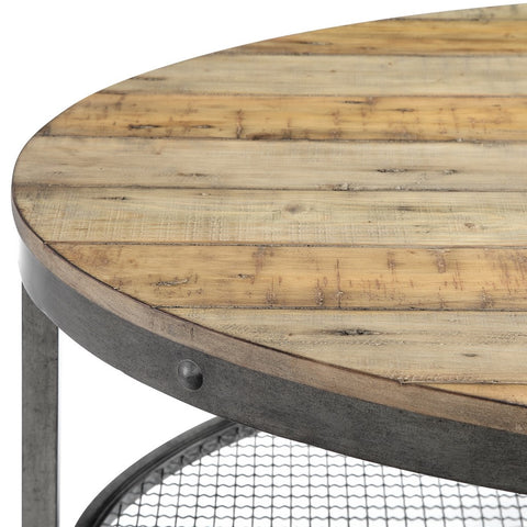 Image of Sheridan Natural Oval coffee Table