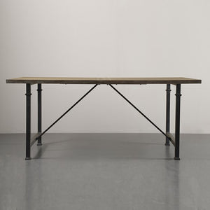 Cirque Dining Table with Metal Legs