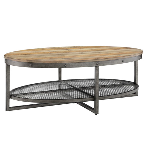 Sheridan Natural Oval coffee Table