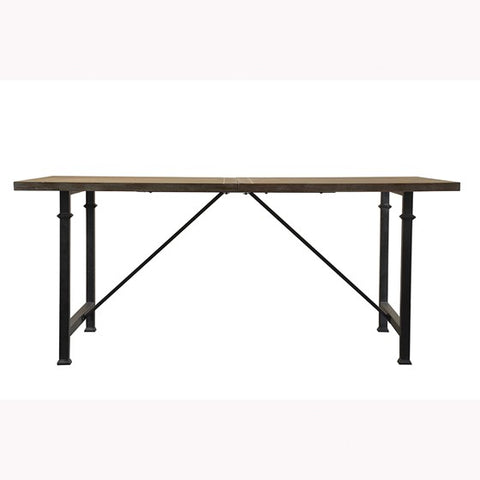 Image of Cirque Dining Table with Metal Legs