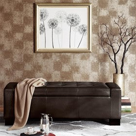 Image of Mirage Tufted Top Storage Bench