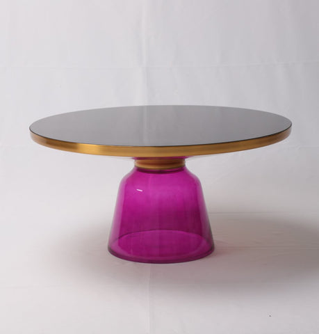 Image of Karin Table Coffee Table - Gold & Purple