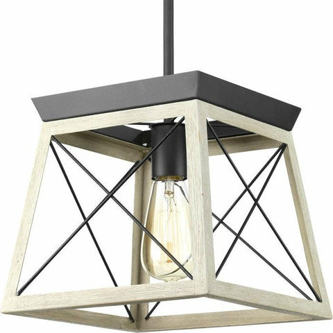 Image of Graphite Dimmable Farm Home Light Lantern Geometric Chandelier