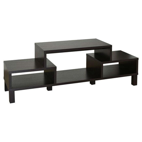 Image of Modern 60-inch TV Stand with Audio Video Media Storage Shelves